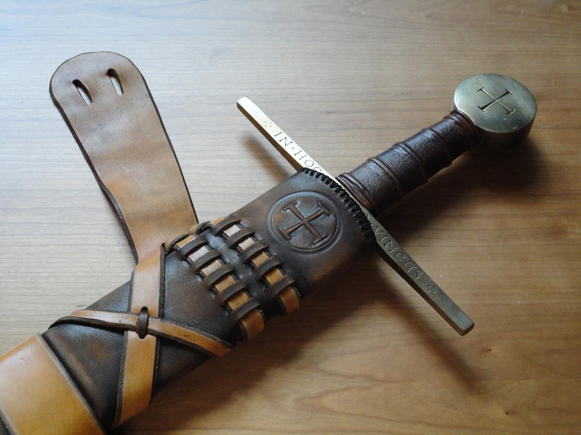 Рукоять меча своими руками