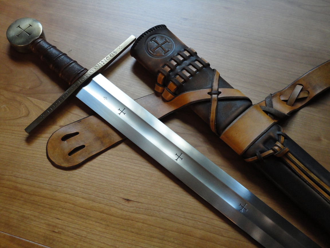 Arn's Sword Albion Modelled It On A Type Of Being Used At The